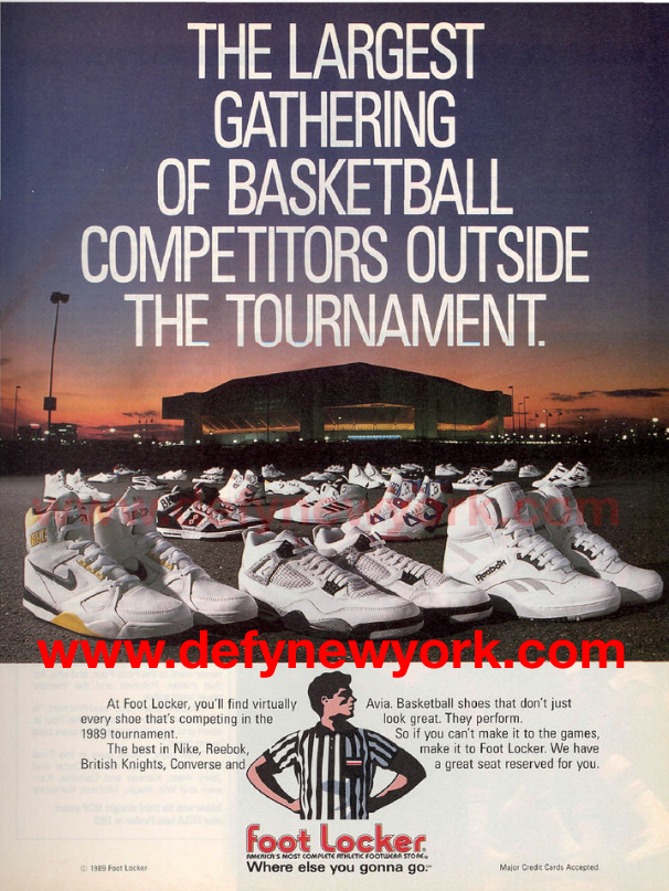 foot locker lineup1989