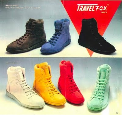 Travel Fox Sneakers 1985-1988 : DeFY. New York-Sneakers,Music ...