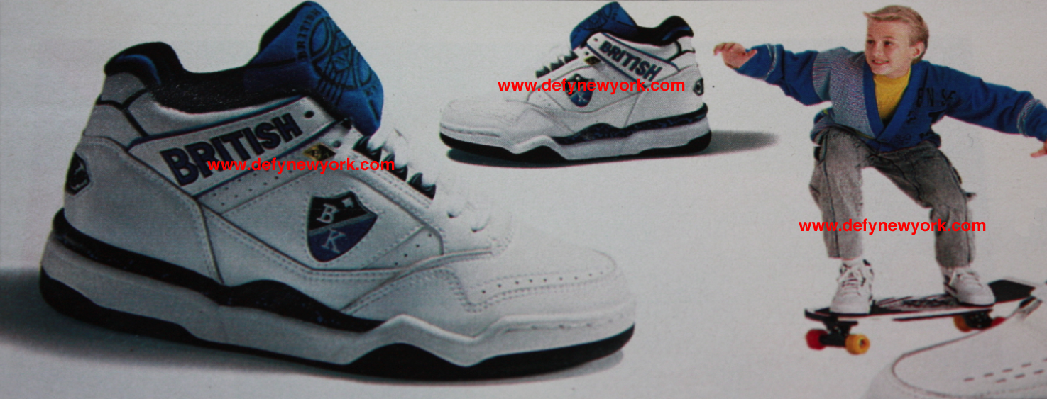 British Knights Dymacel V Sneaker 1991 : DeFY. New York-Sneakers