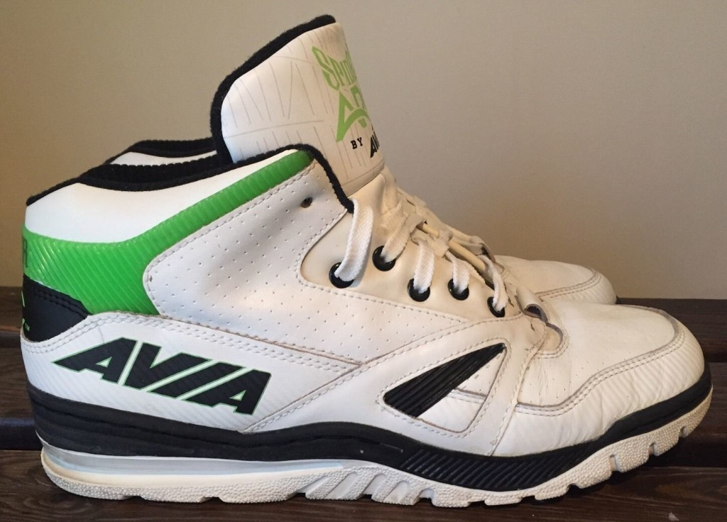 Avia 878 3/4 Spider ARC High Basketball Shoe 1990 : DeFY