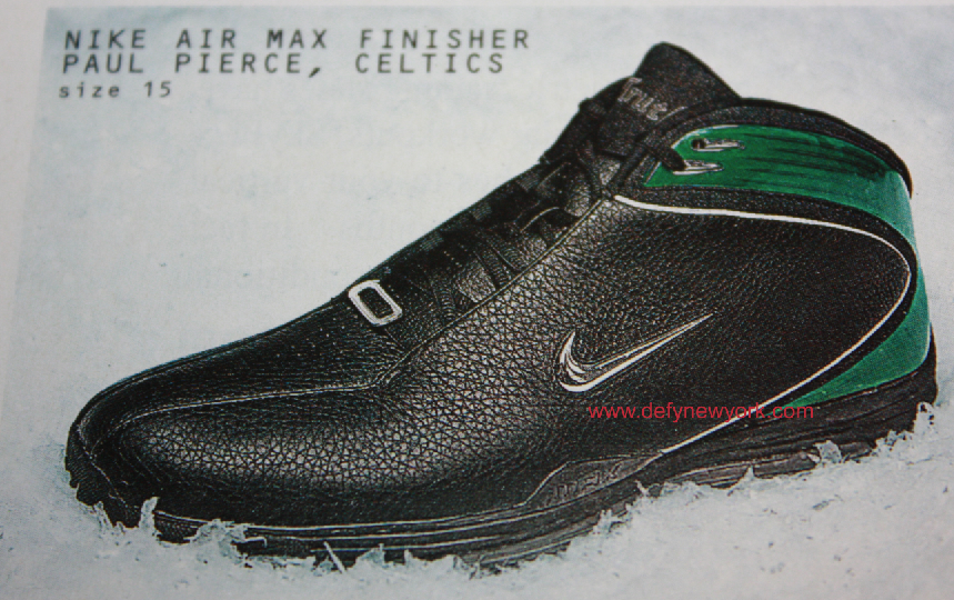 Nike Air Max Finisher Paul Pierce Player Sample Black ...