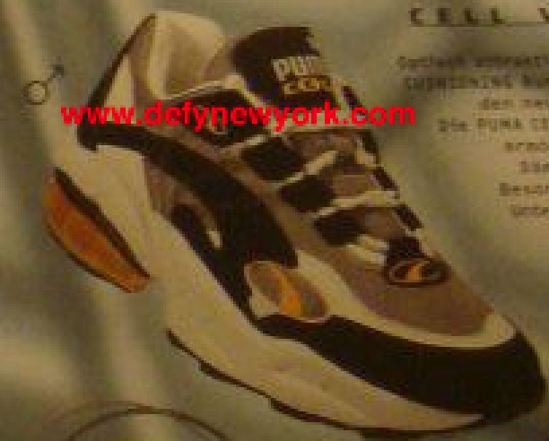 Puma Cell Venom Running Shoe 1998 : DeFY. New York ...