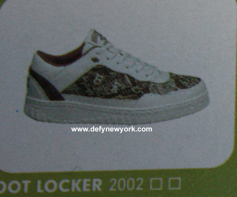 Lottos Snakeskin Tennis Shoes
