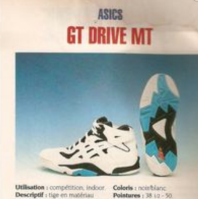 Asics GT Drive MT Basketball Shoe 1992