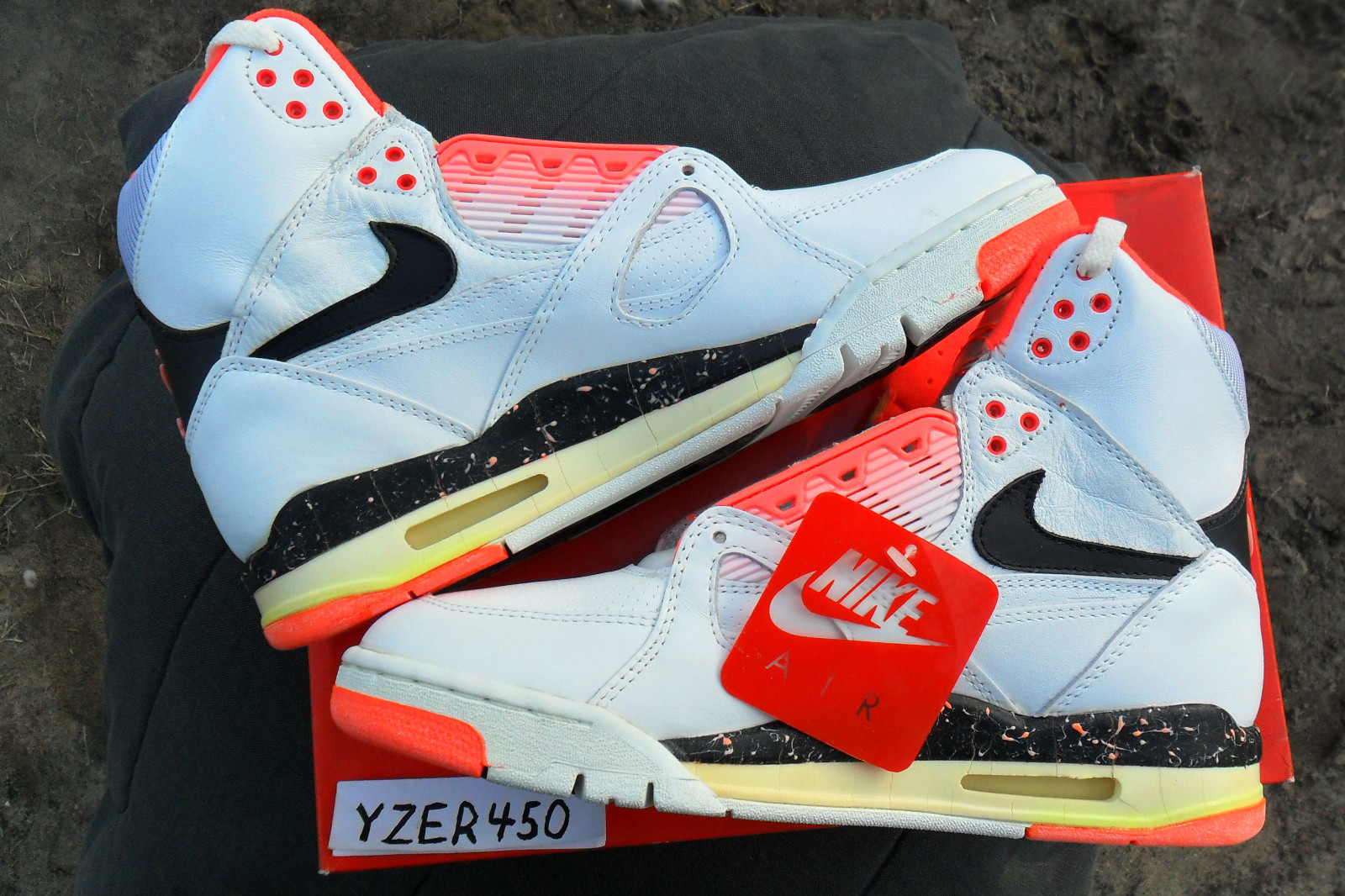 89 Nike Air Flight High Top Musée des impressionnismes Giverny