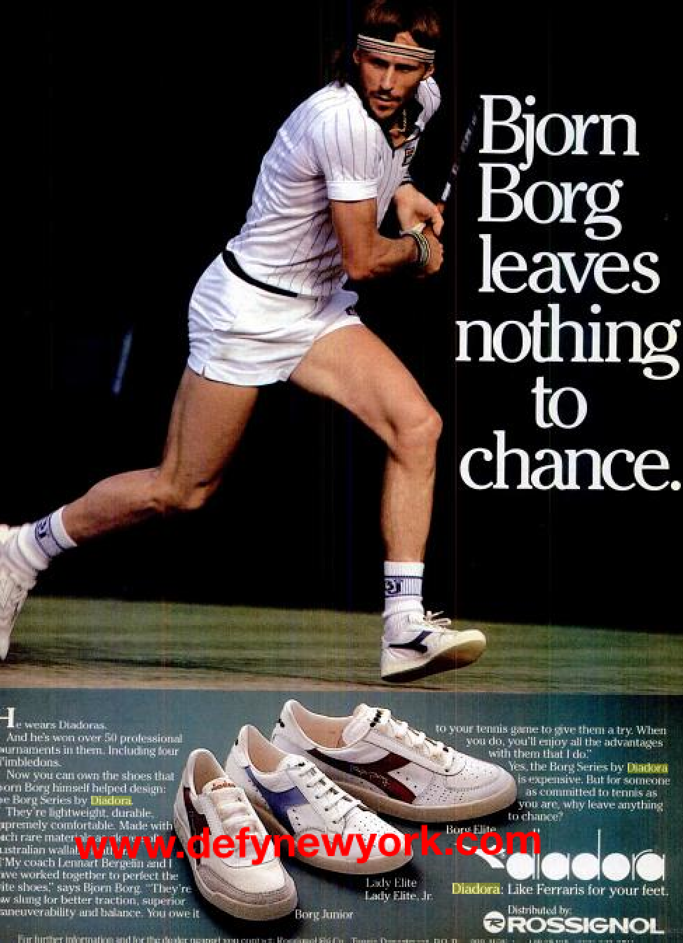 Diadora Bjorn Borg Tennis Shoes