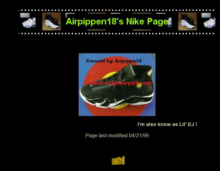 air pippen 18 home page