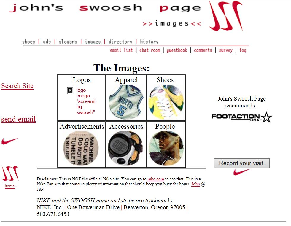 johns swoosh page images