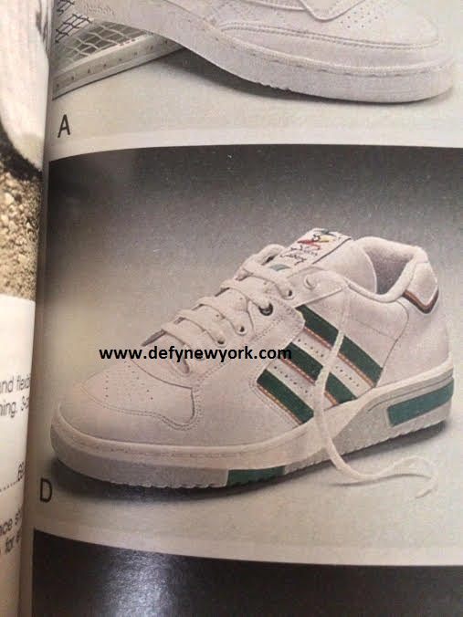 Adidas Stefan Edberg Tennis Shoe 1989 Defy New York