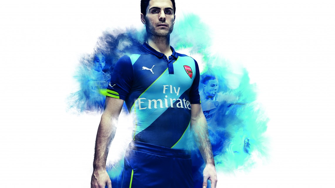 PUMA Launch the Arsenal FC Kit Trilogy for the 2014/15 season