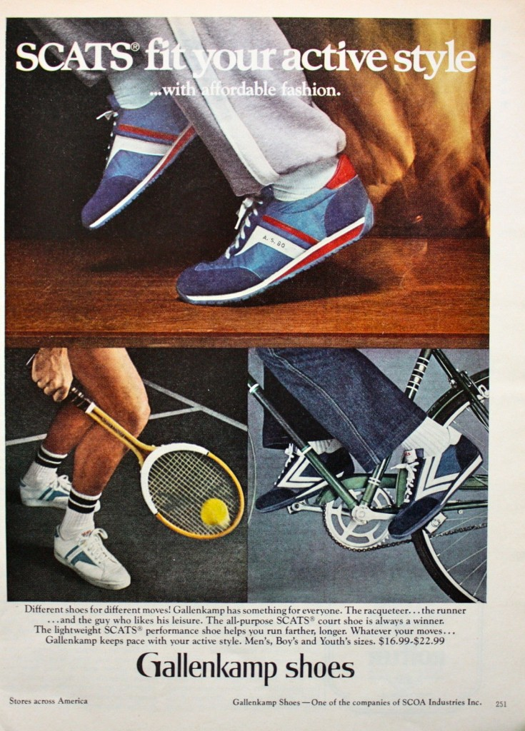 gallenkamp shoes 1980