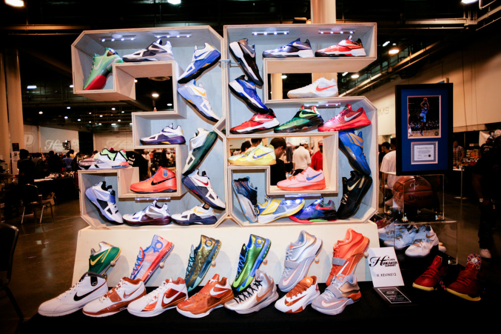 HOUSTON, TX - JULY 26: The HTown Sneaker Summit hosted the Summer edition of their bi-annual sneaker convention at the NRG Center on July 26, 2015 in Houston, Texas. (Photo by Marco Torres/HoustonPress)