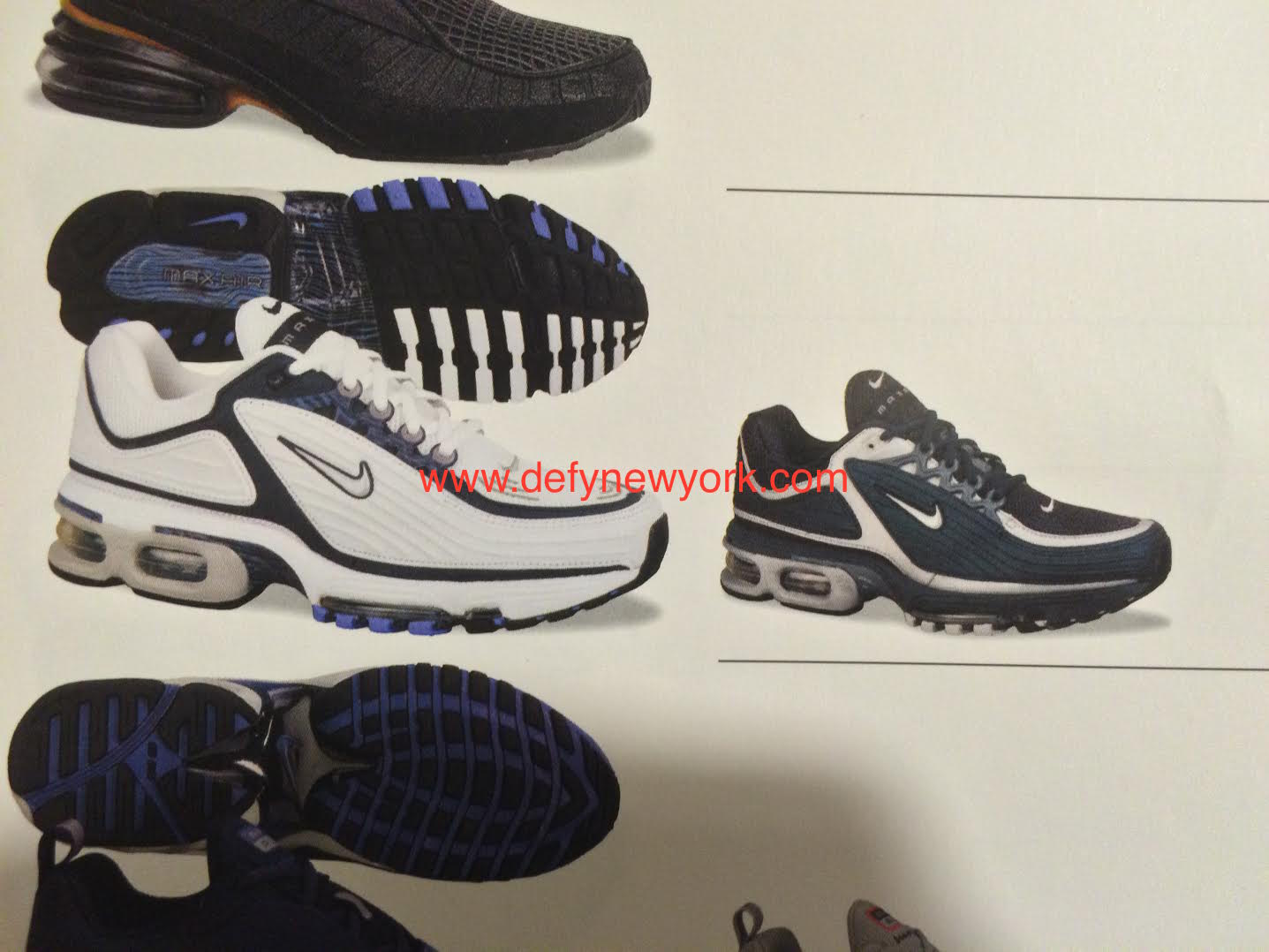 Kicks Deals Official Website Nike Air Max Tailwind 96 12 Black/Wolf