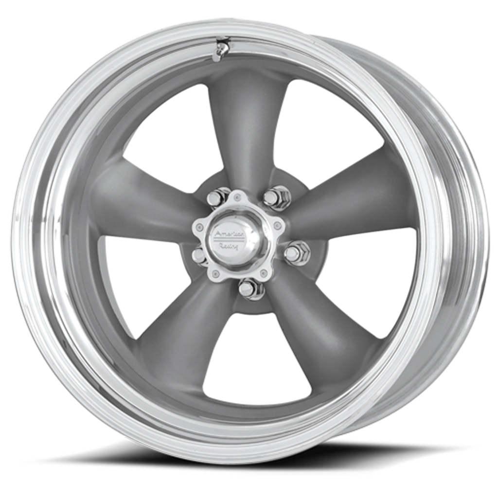 American Racing 2pcTorqThrust-gray polished