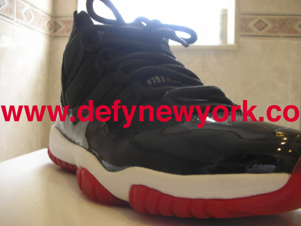 size 40 3de60 b8c58 ... the beginning of the end for the quality of the Jordan XI retro series.  Below are pictures of the 2001 Black Red Jordan XI from the DeFY.