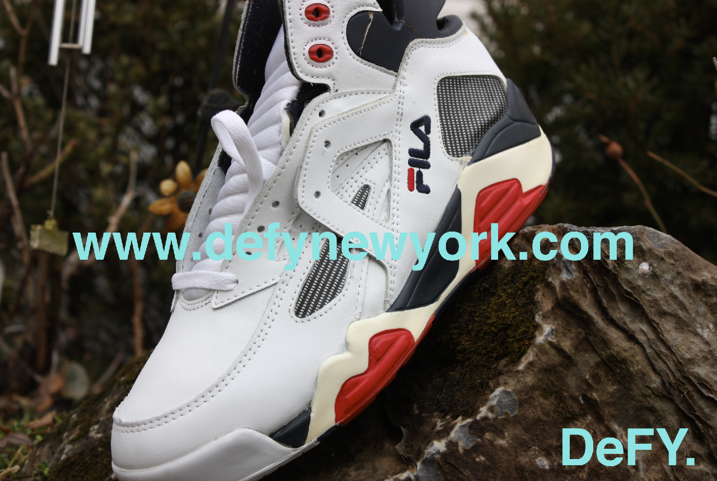 a2ead184967 The Original Fila Cage White Red Navy Blue 1993 – DeFY. New York ...