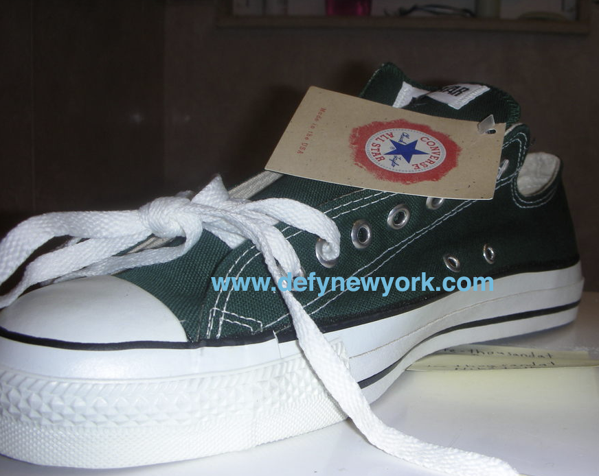 Converse All Star Pine Made In The U.S.A. Early 2000   DeFY. New ... ee0dc24a7