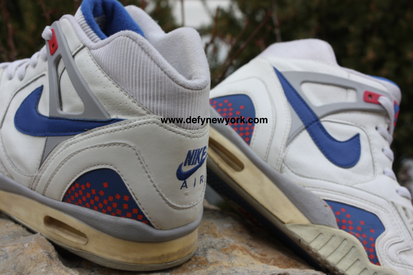 nike air tech challenge ii 34 original whiteblue