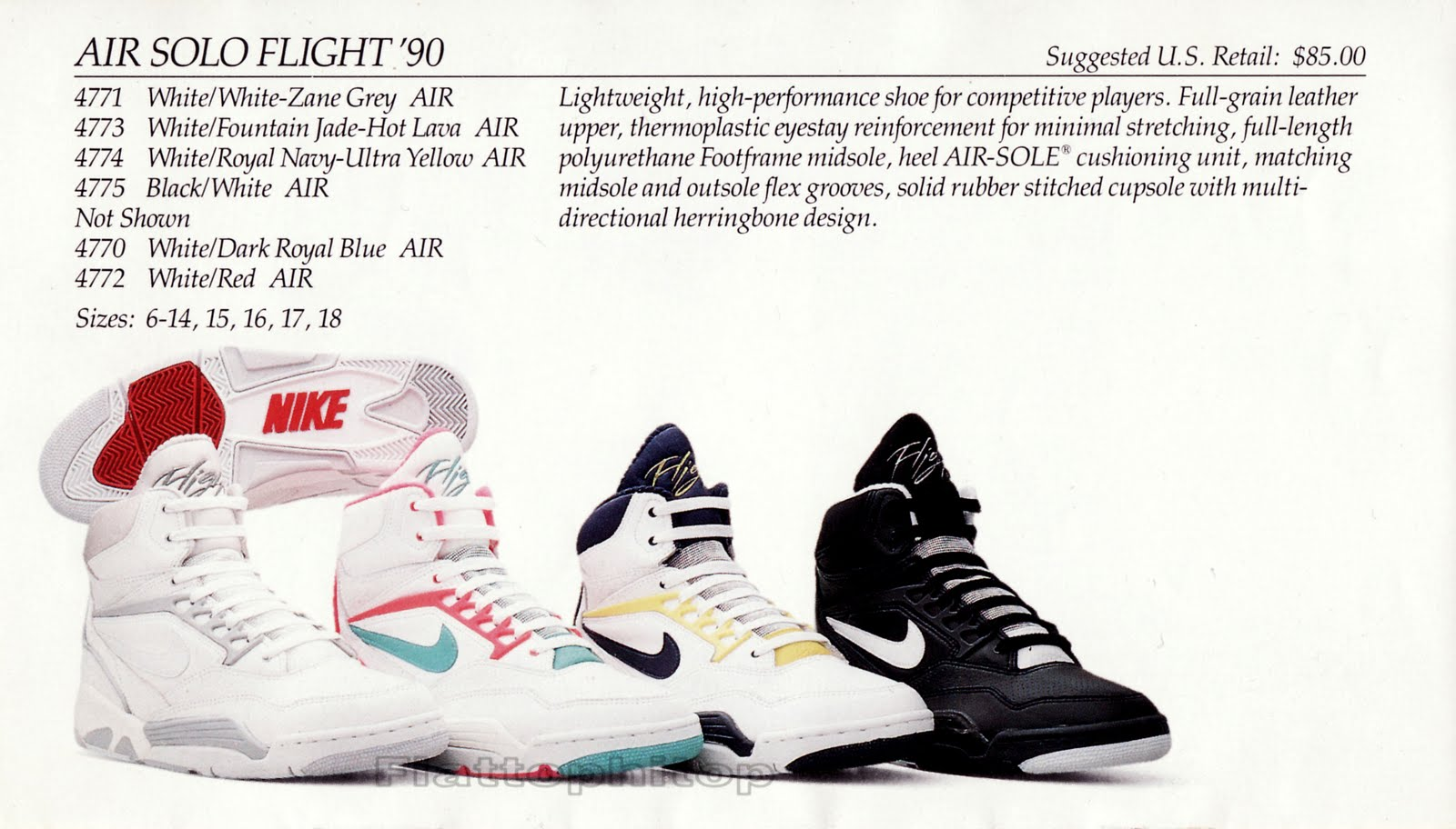 huge discount c66b5 aed11 Take Flight Part II Bring Back The 1990 Nike Air Flight And
