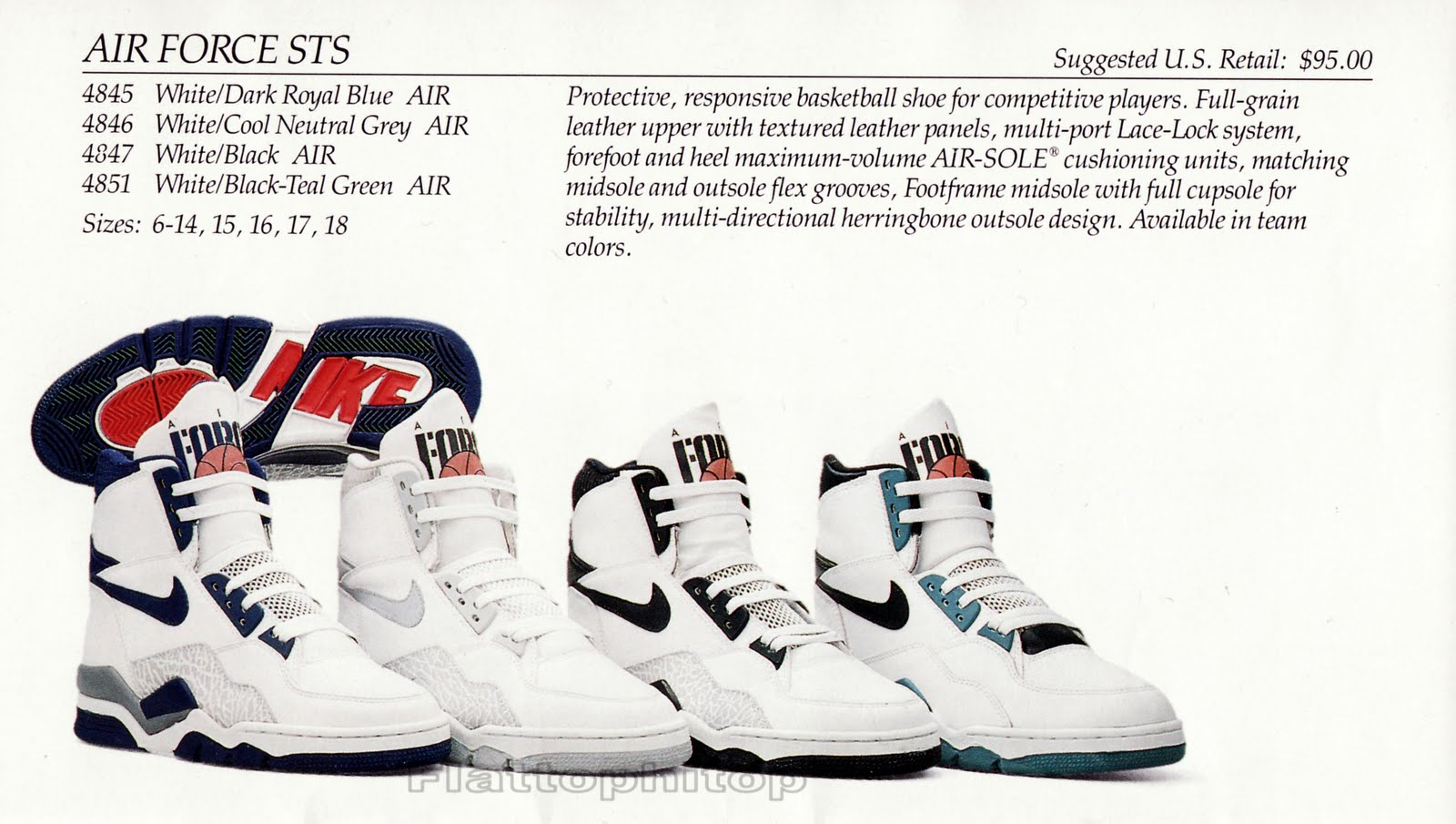 Nike Air Force STS 1990 : New York Baskets,Music,Fashion,