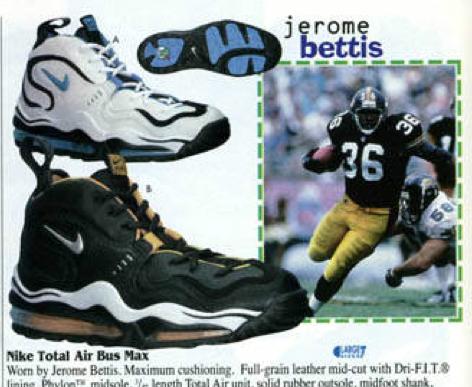 Jerome Bettis Nike Shoes