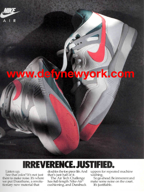 the latest 771ce 034b5 Nike Air Tech Challenge I 1988