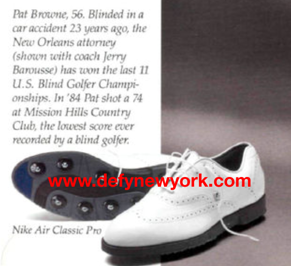 new arrival a9128 2f68f Nike Air Classic Pro Golf Shoe 1989