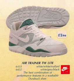 the latest a1bcc 28163 Nike Air Trainer TW Lite Shoe 1989