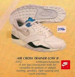 Nike Air Cross Trainer HI \u0026 Low II 1 1989