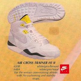 agrio Rico Coche  Nike Air Cross Trainer HI & Low II 1 1989