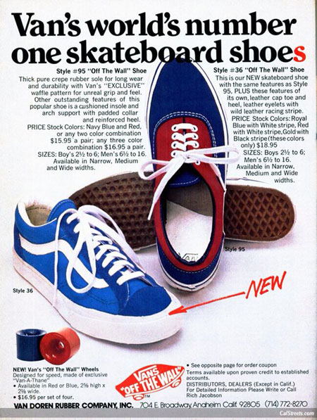 Vans Shoes Print Ads