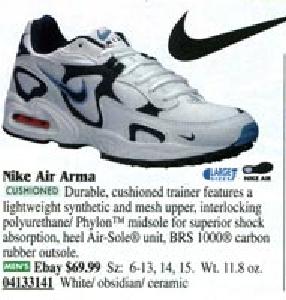 Y equipo libertad por qué  Nike Air Arma Running Shoe 1998 – DeFY. New York-Sneakers,Music ...