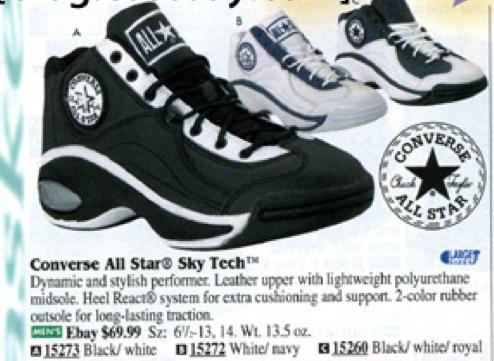 1998 With Juice Sky Tech Basketball Shoe All React Converse Star kuliZwOPXT
