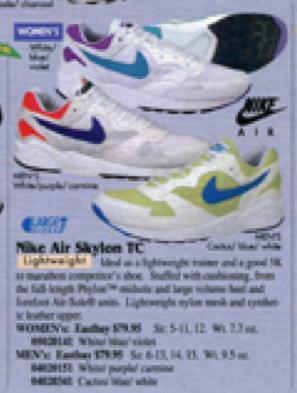 innovative design 6bb94 f6033 Nike Air Skylon TC 1995