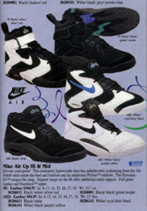 Nike Air Up Hi & Mid Basketball Shoe 1995 – DeFY. New York