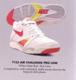 cheap for discount bc420 2b4af Nike Air Challenge Pro Low Tennis Shoe 1991