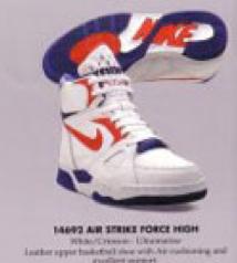 buy popular 72b6e 2f22c Nike Air Strike Force High 1991