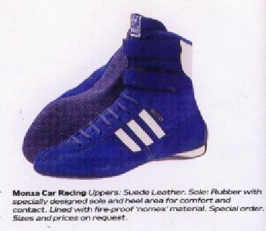Adidas Monza Car Racing Shoes 1985