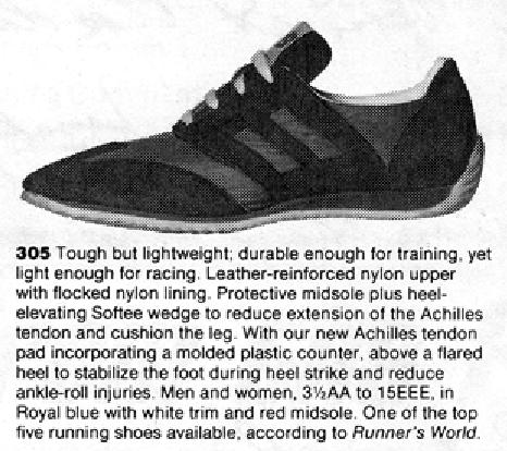 New Balance 305 Running Shoe 1977