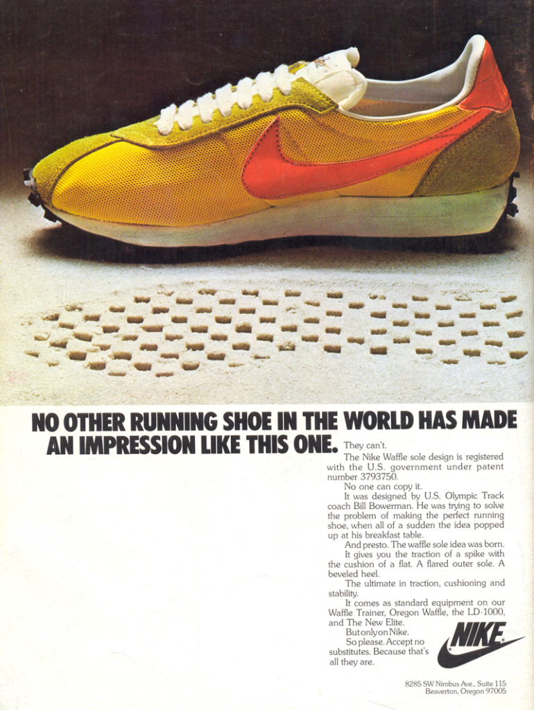 Nike Waffle Trainer LD-1000 1977 : DeFY. New York-Sneakers ...