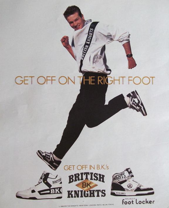 British Knights Leader High Original 1989