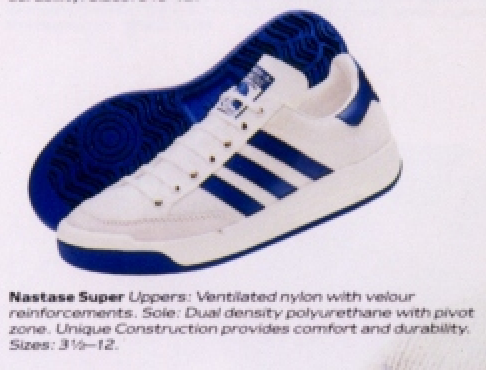 Adidas Nastase Super Tennis Shoe 1985 DeFY New York
