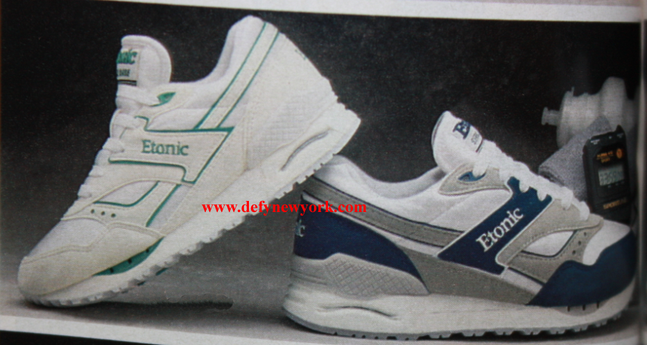 Etonic Stablebase Running Shoe 1990 Defy New York