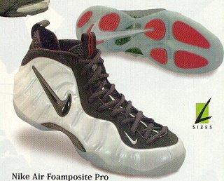 Nike Air Foamposite Pro Pearl