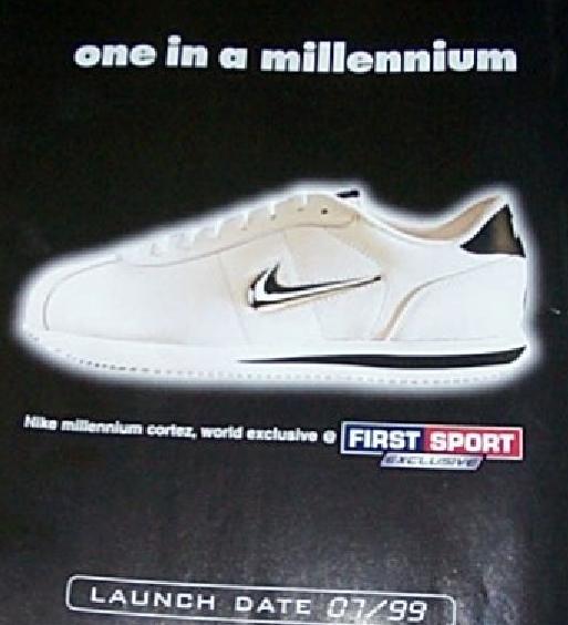 innovative design 49a98 d760e Nike Millennium Cortez (Jewel) Sneaker 1999 – DeFY. New York ...