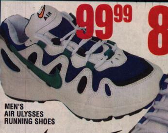 huge discount 3414e b591e Nike Air Ulysses Running Shoe 1997
