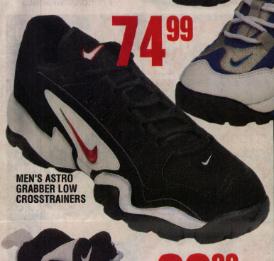 Nike Air Astro Grabber Low Shoes