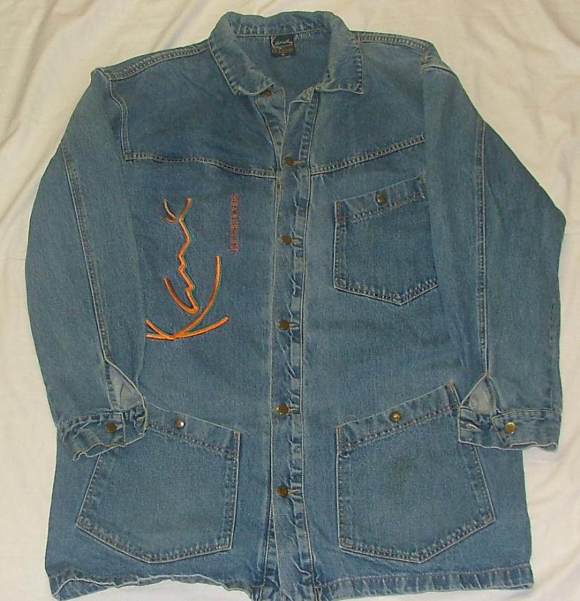 karl kani denim jackets 1992 defy new york sneakers. Black Bedroom Furniture Sets. Home Design Ideas