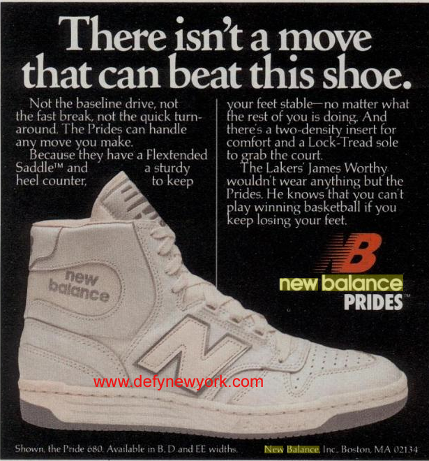 New Balance Pride 680 Basketball Shoe 1984   DeFY. New York-Sneakers ... c0aa4a27a317