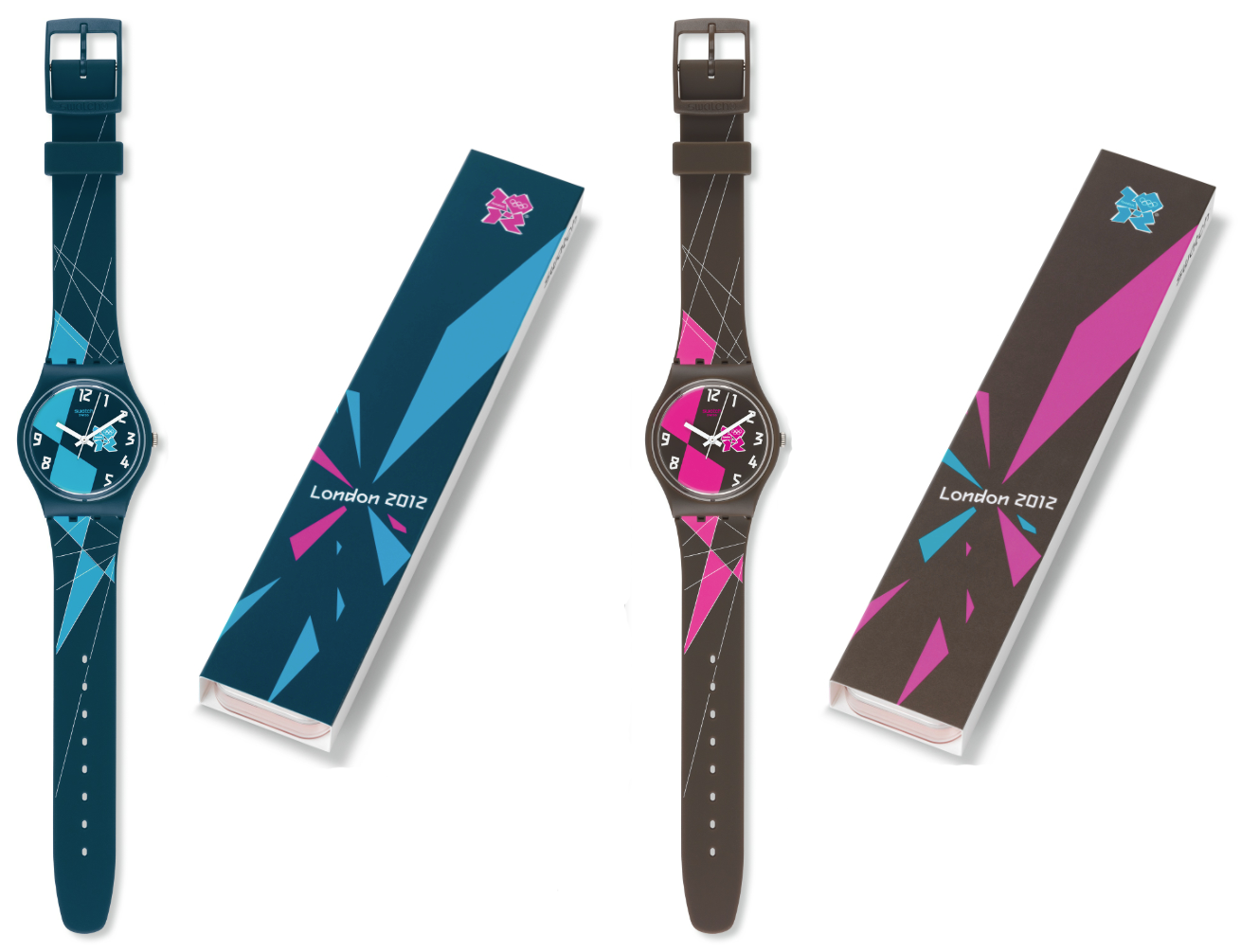 Swatch launches Olympic watches for London 2012 : DeFY ...